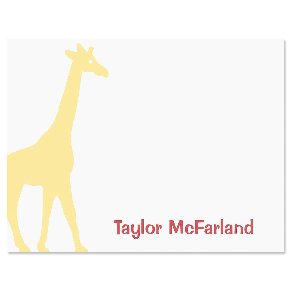 Animal Friends Correspondence Cards