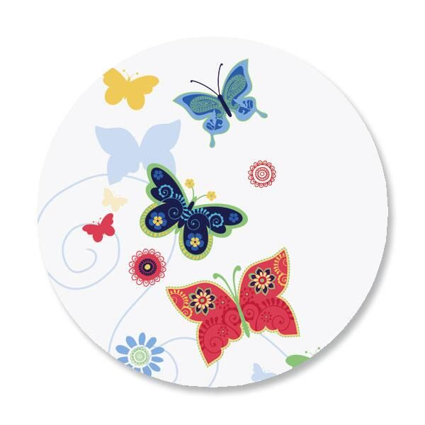 Delicate Butterflies Envelope Sticker Seals