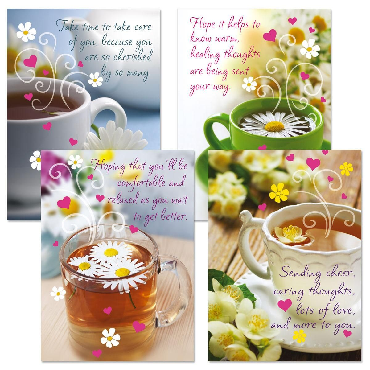Teacup Get Well Cards