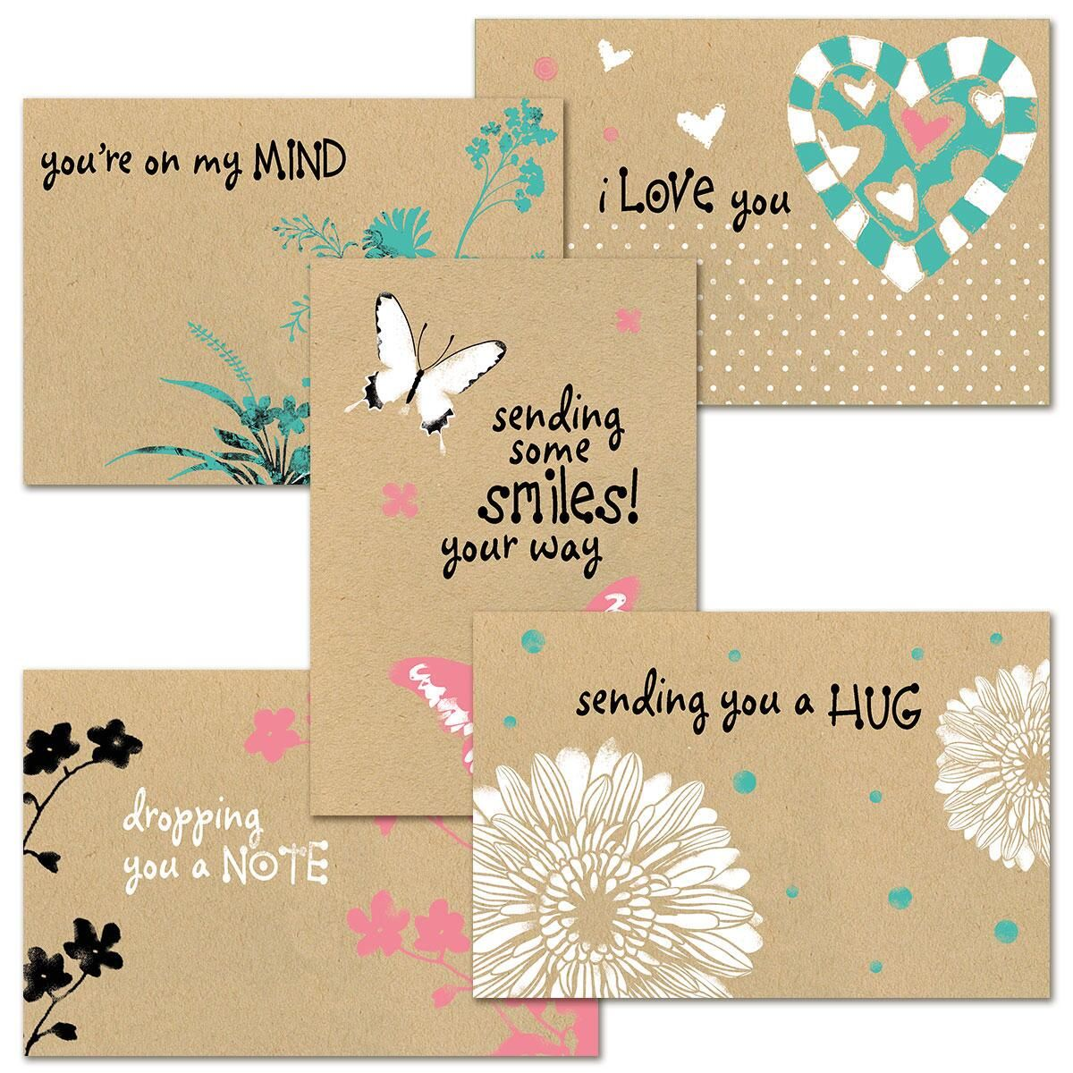 Everyday Kraft Greeting Cards Value Pack