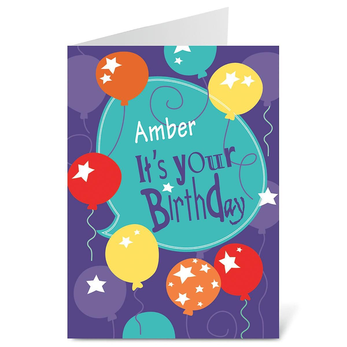 Celebrating You Birthday Create-A-Card