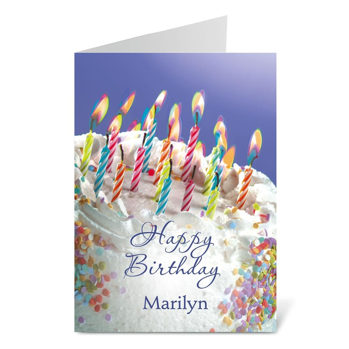 Birthday Cake Select-a-Card