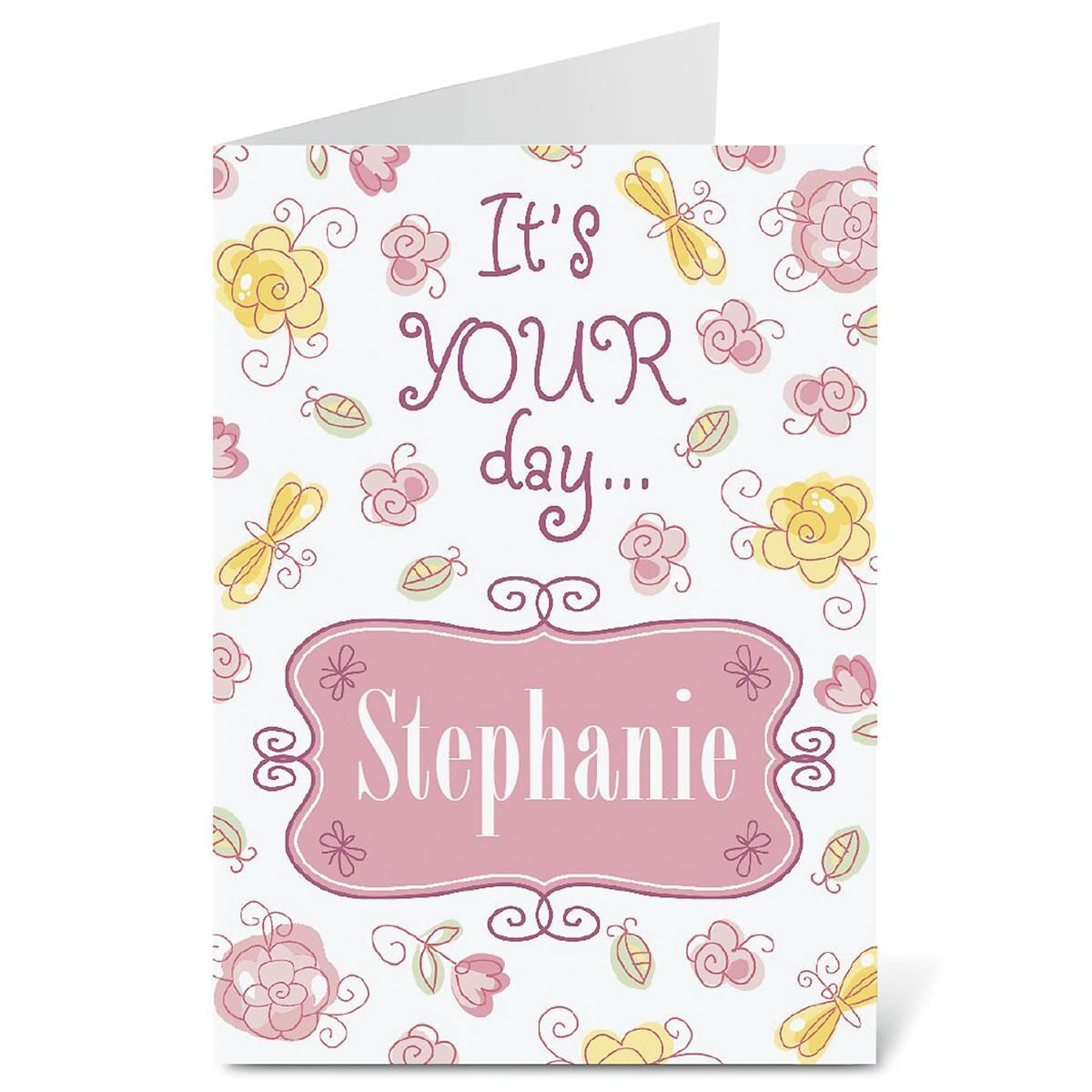 Pretty in Pink Select-A-Card
