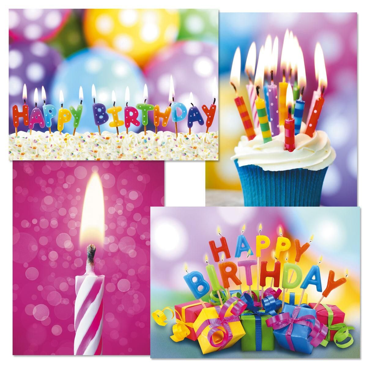 Make a Wish Birthday Cards & Seals