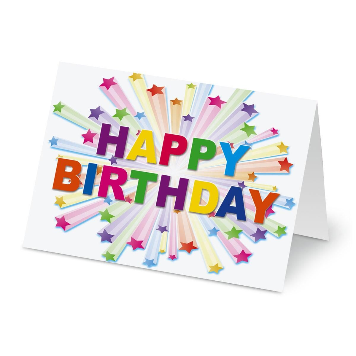 birthday stars cards current catalog