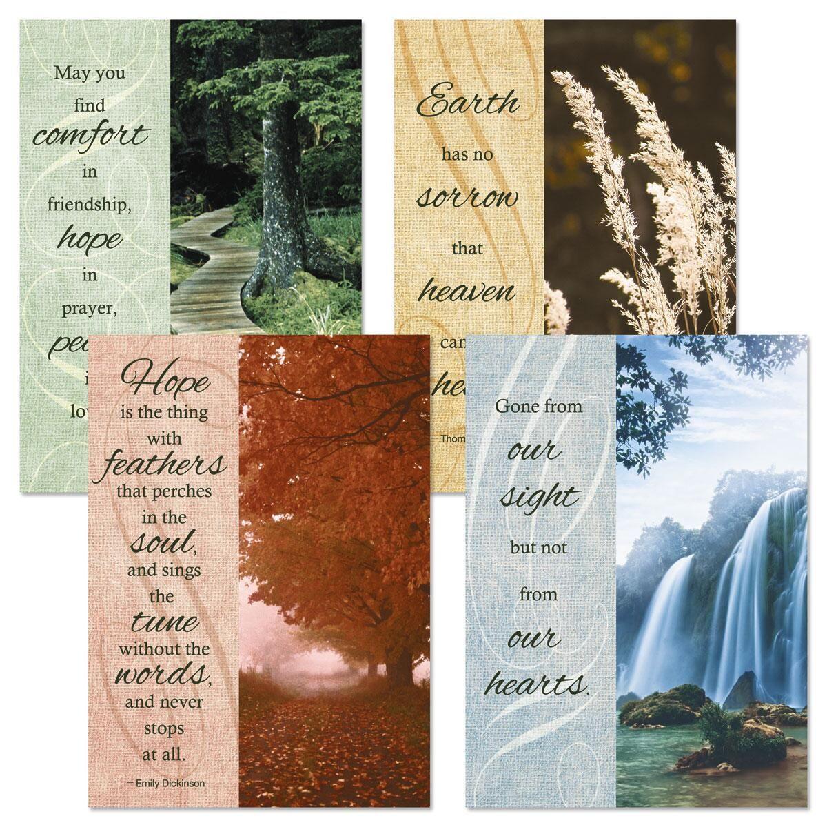 Faith Caring Sympathy Cards