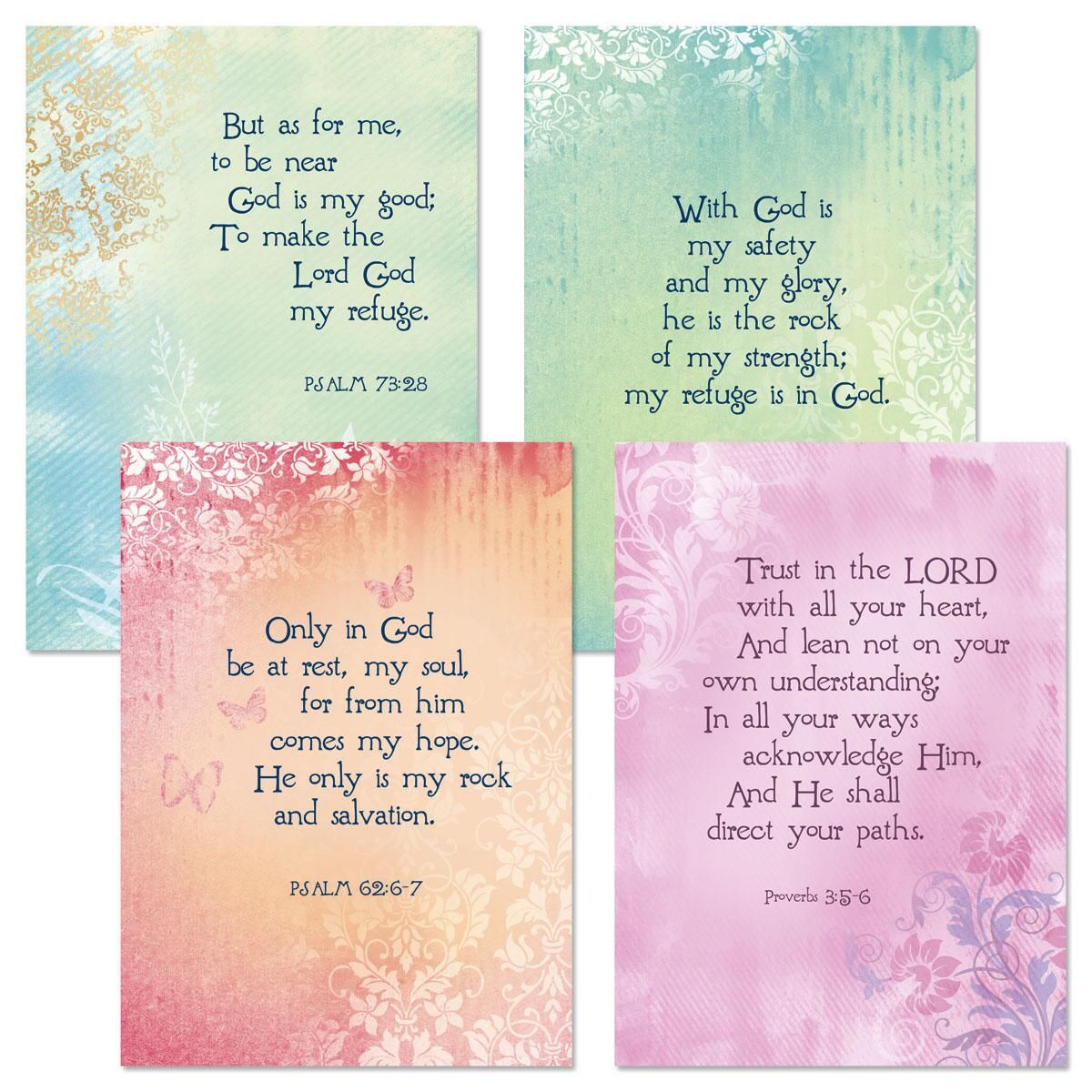 Heartfelt Scripture Get Well Cards and Seals