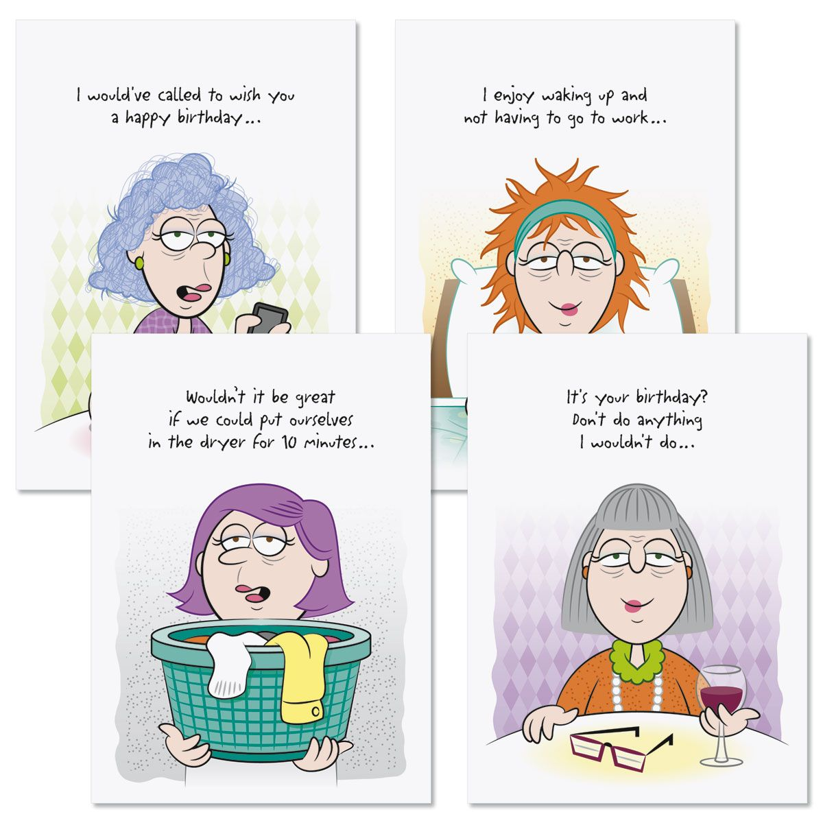 Girlfriends Humor Birthday Cards