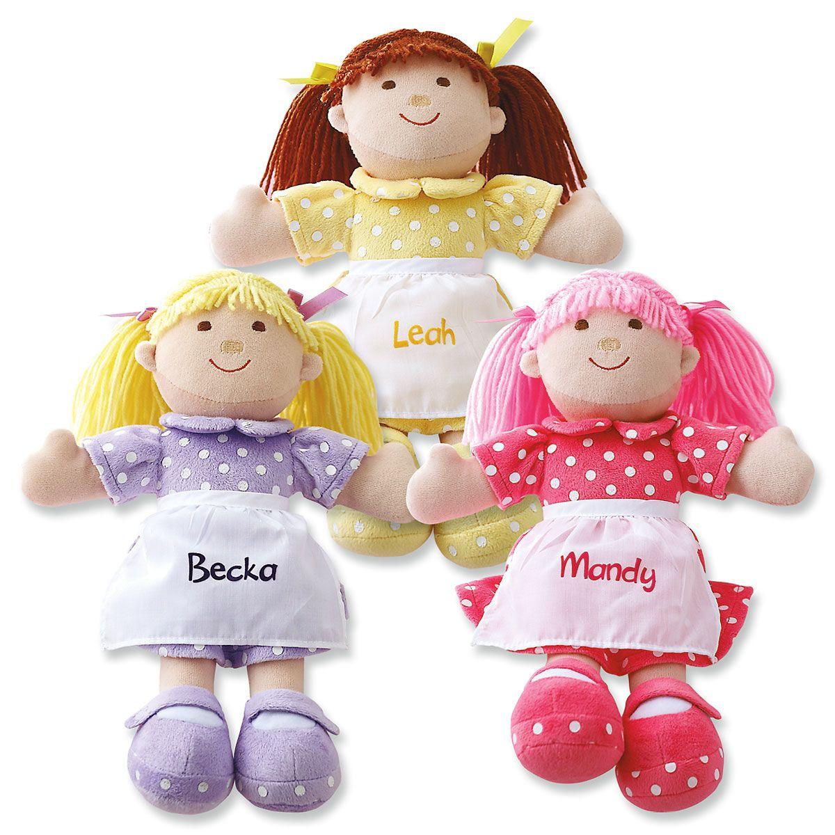 Cuddly Soft Personalized Dolls