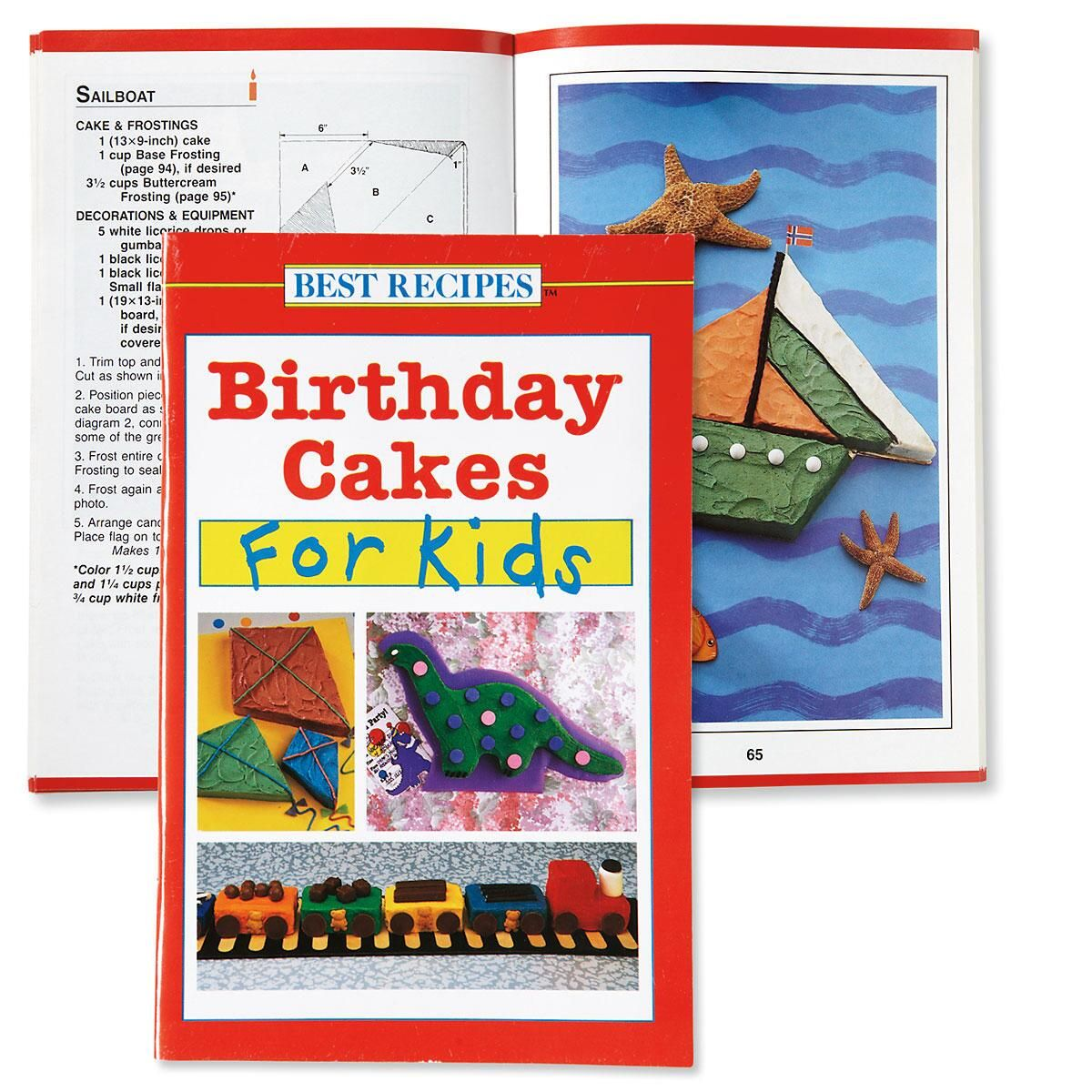 Birthday Cakes for Kids Recipe Book