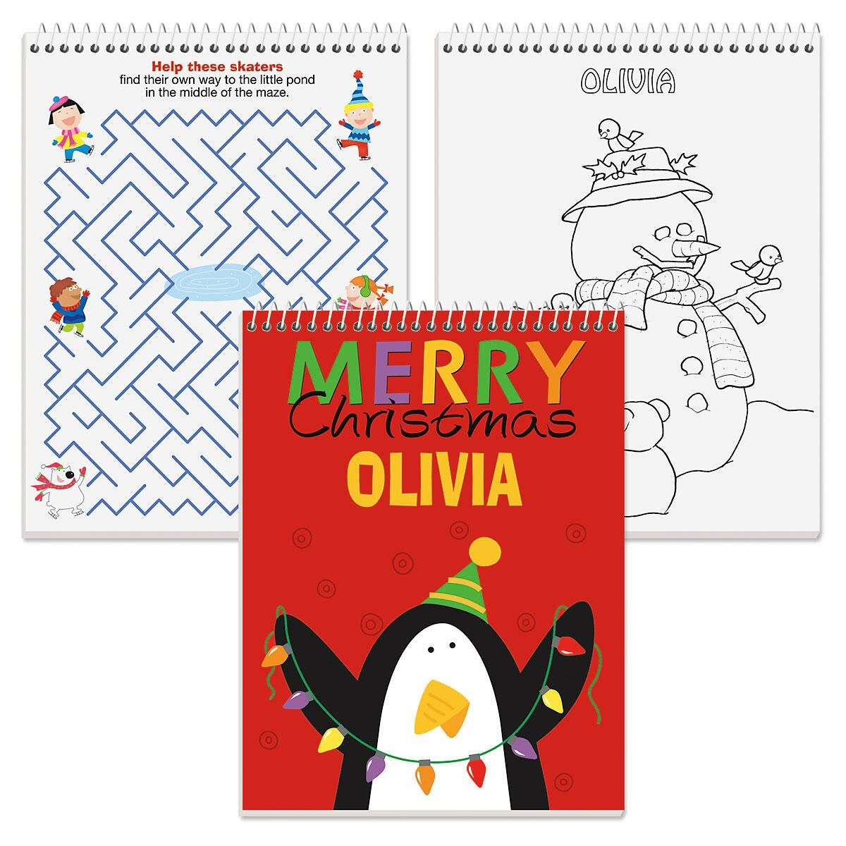 Personalized Color & Activity Book