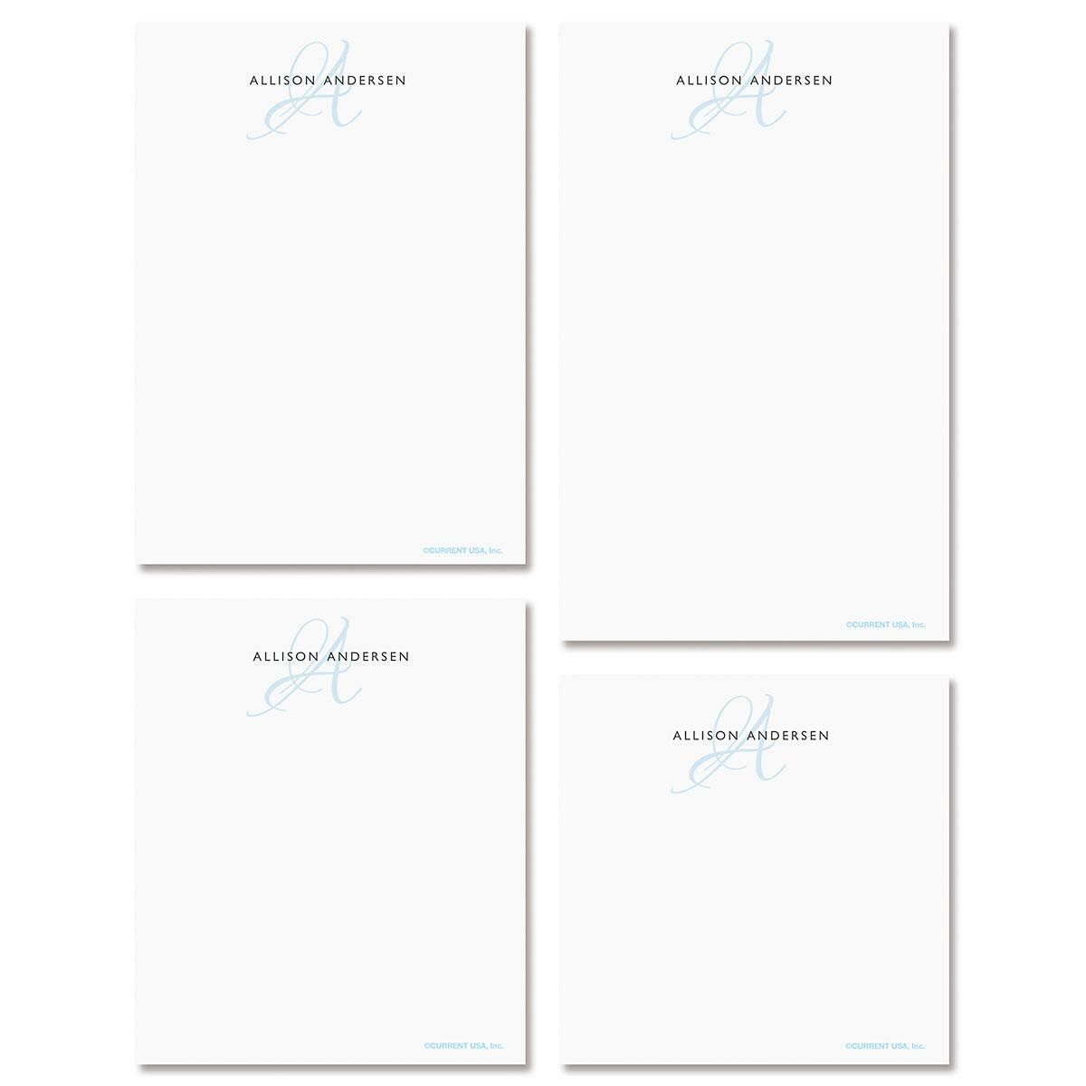 Initial Notepad Set