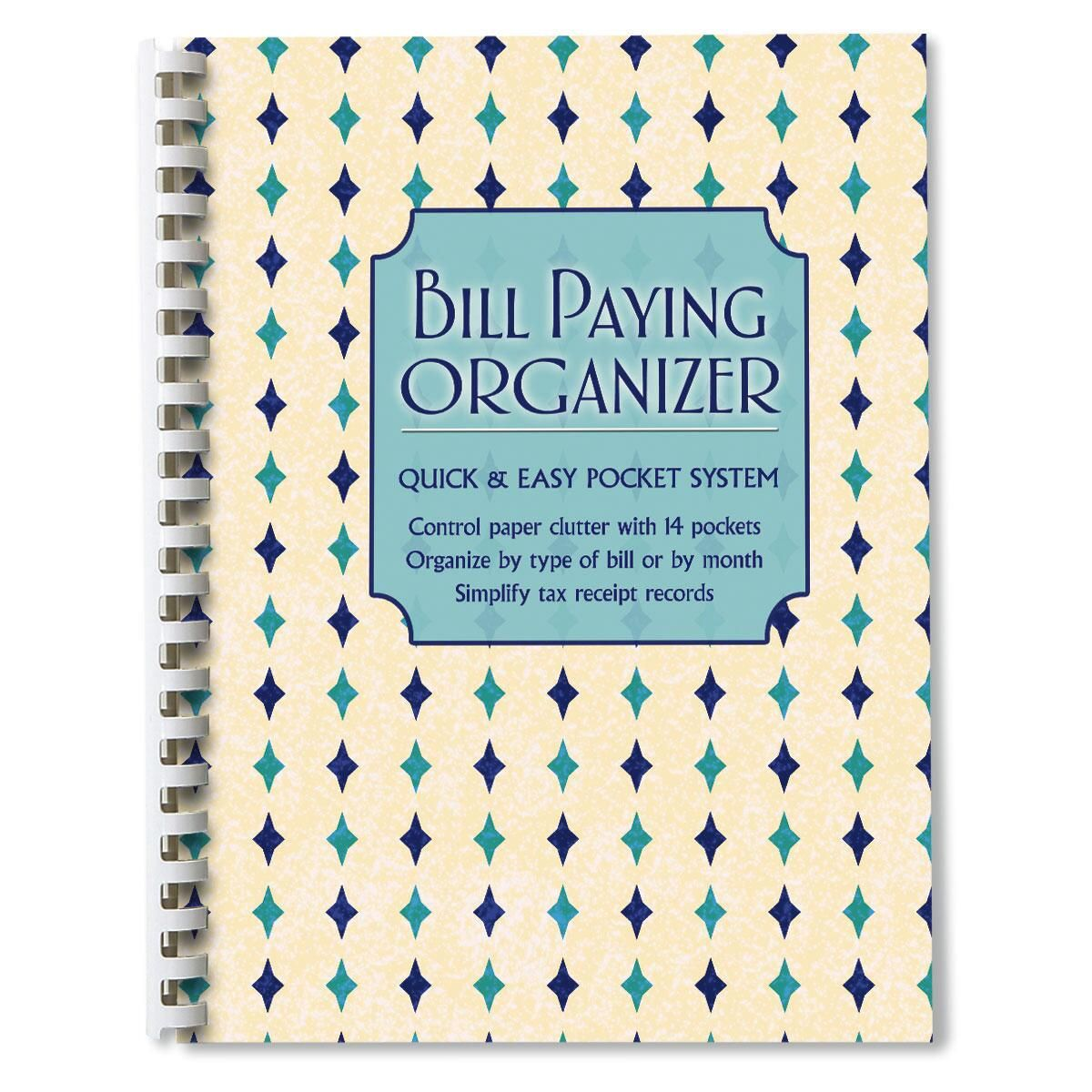 Mosaic Pattern Bill Paying Organizer
