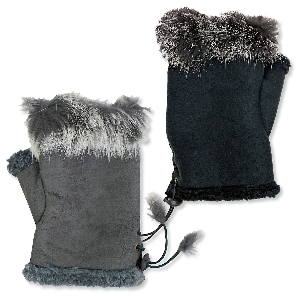 """Fur"" Texting Gloves"