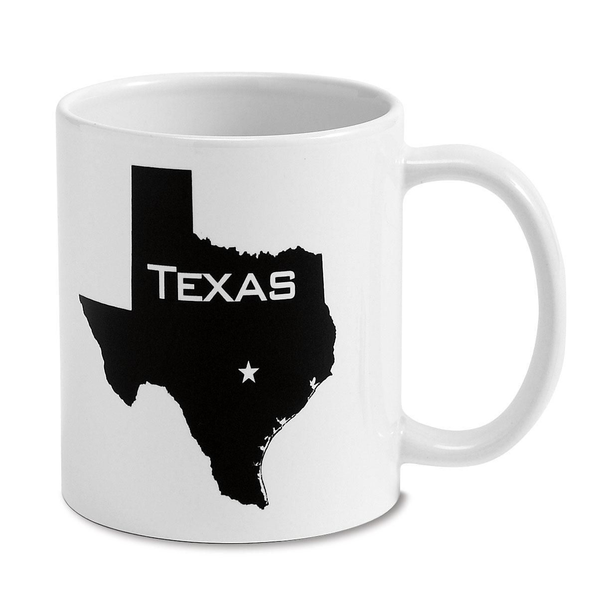 State Silhouette Personalized Mug, 11 oz.