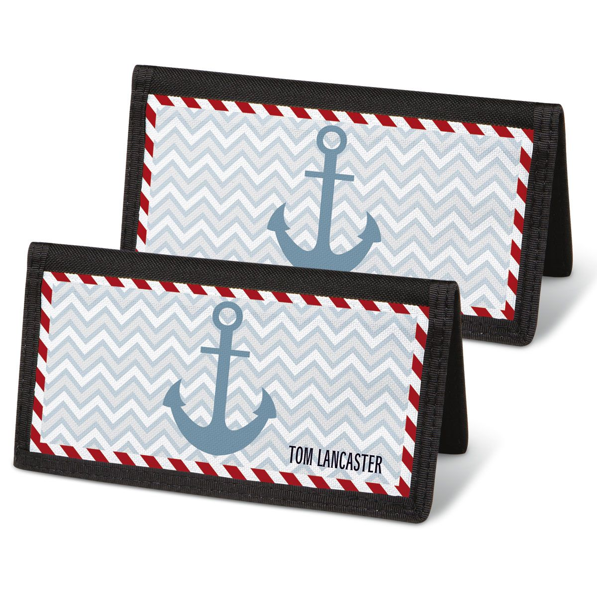 Nautical Chic Checkbook Cover