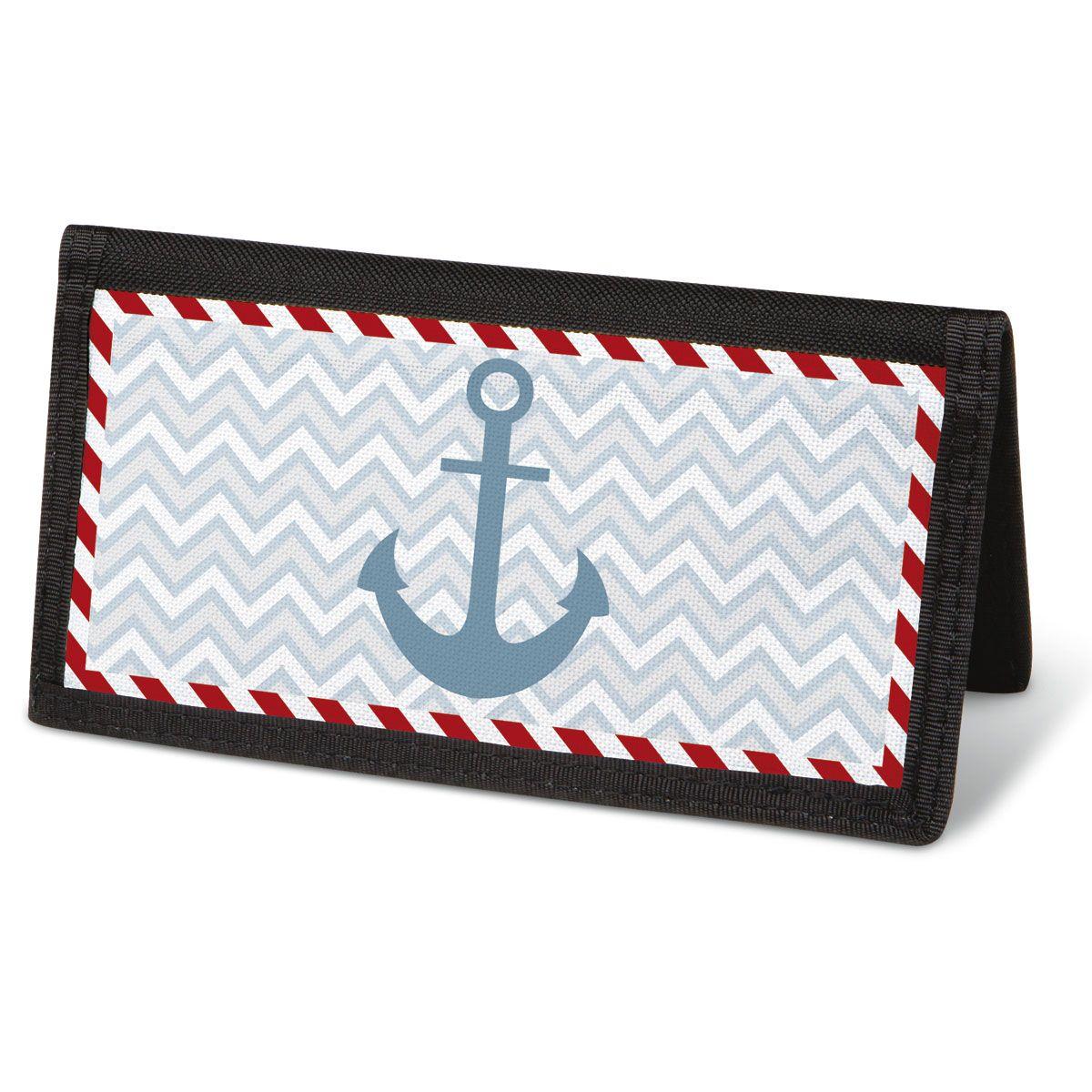 Nautical Chic Checkbook Cover - Non-Personalized