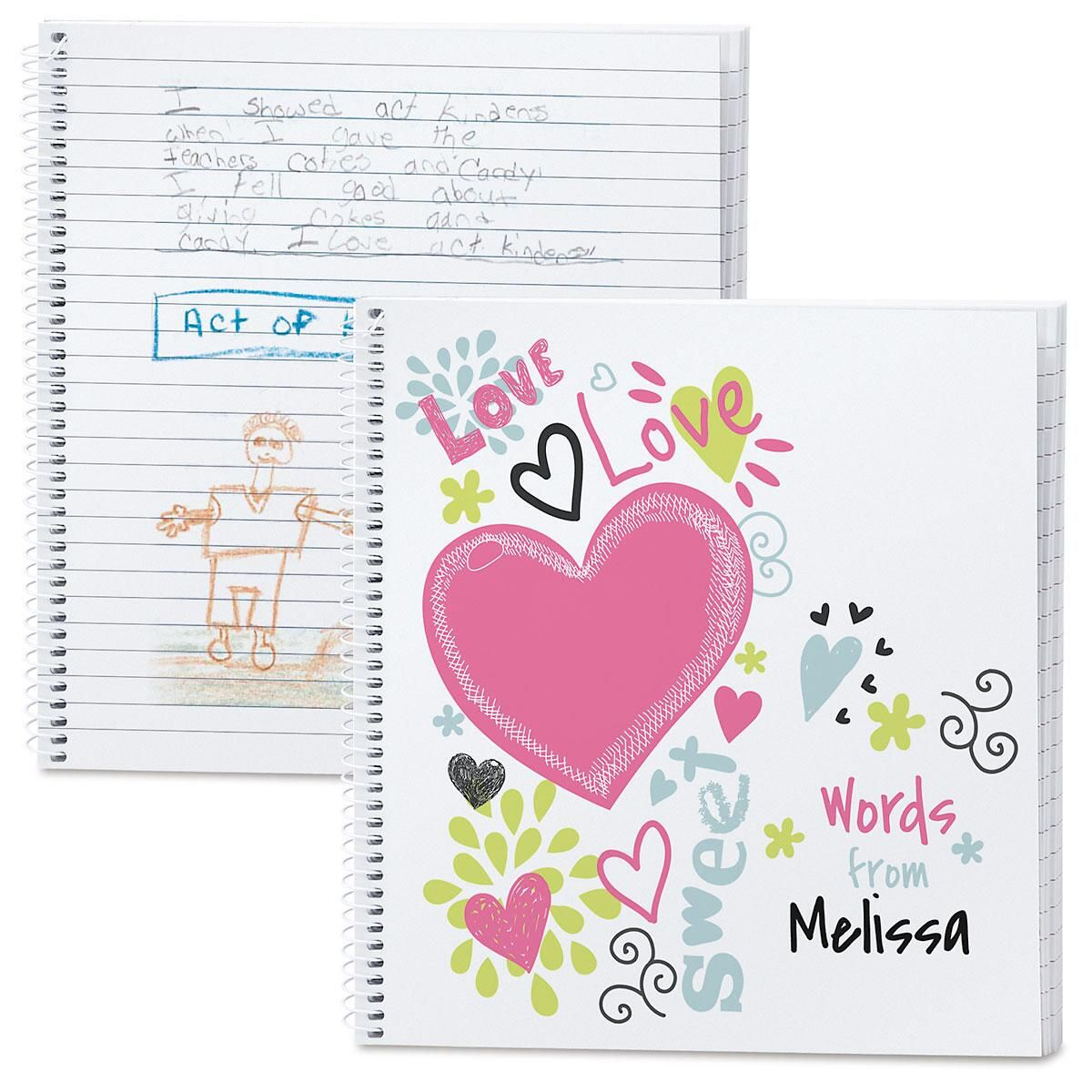 Doodle Town Personalized Journal