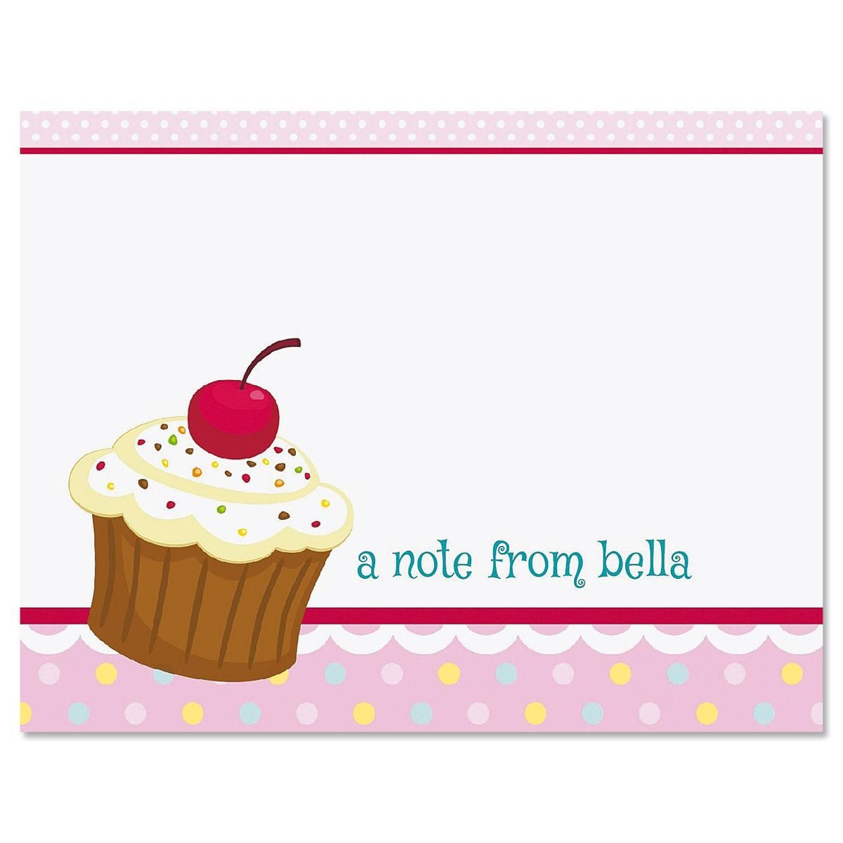 Sweet Icing Personalized Note Cards