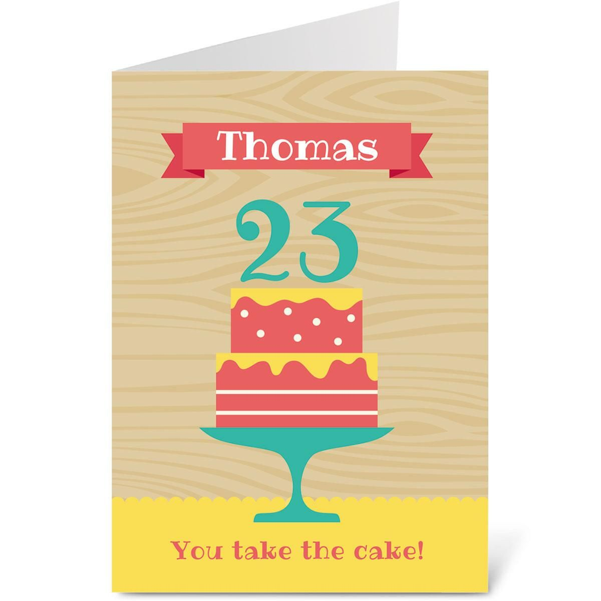 Take the Cake Create-A-Card