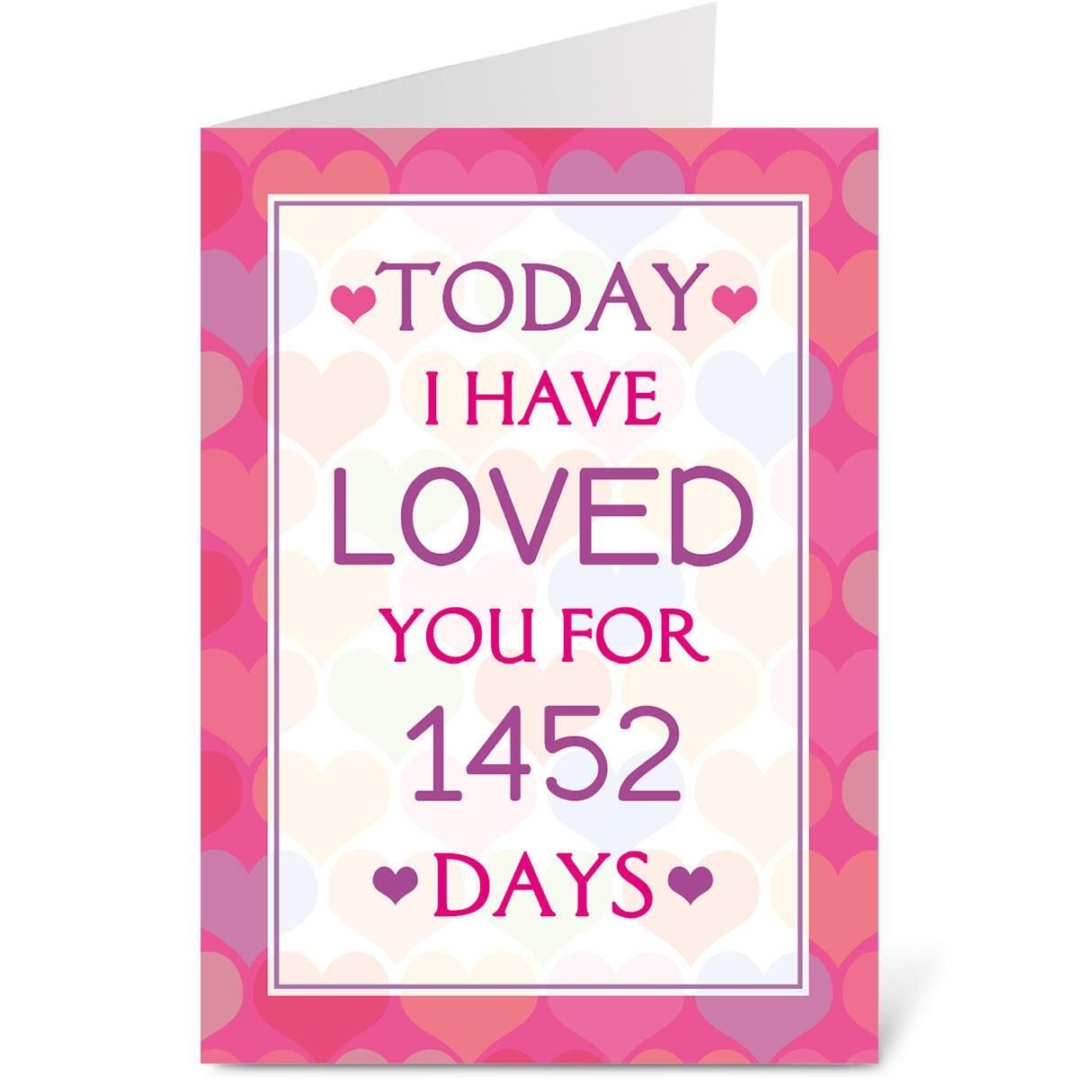 Days of Love Valentines Create-A-Card