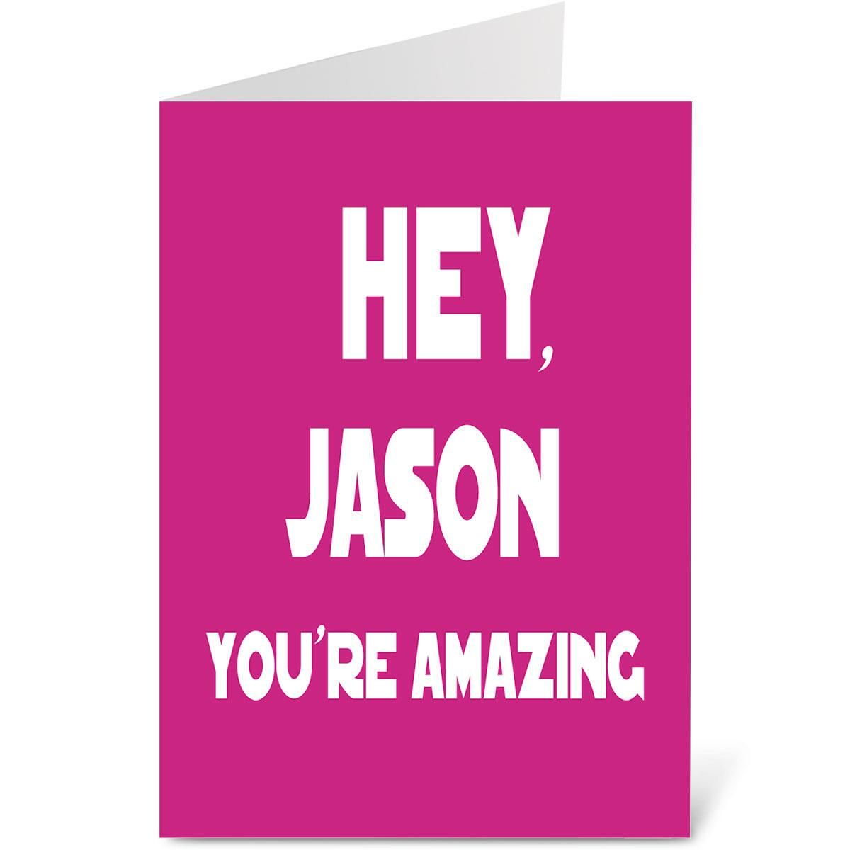 Hey You Valentine Create-A-Card