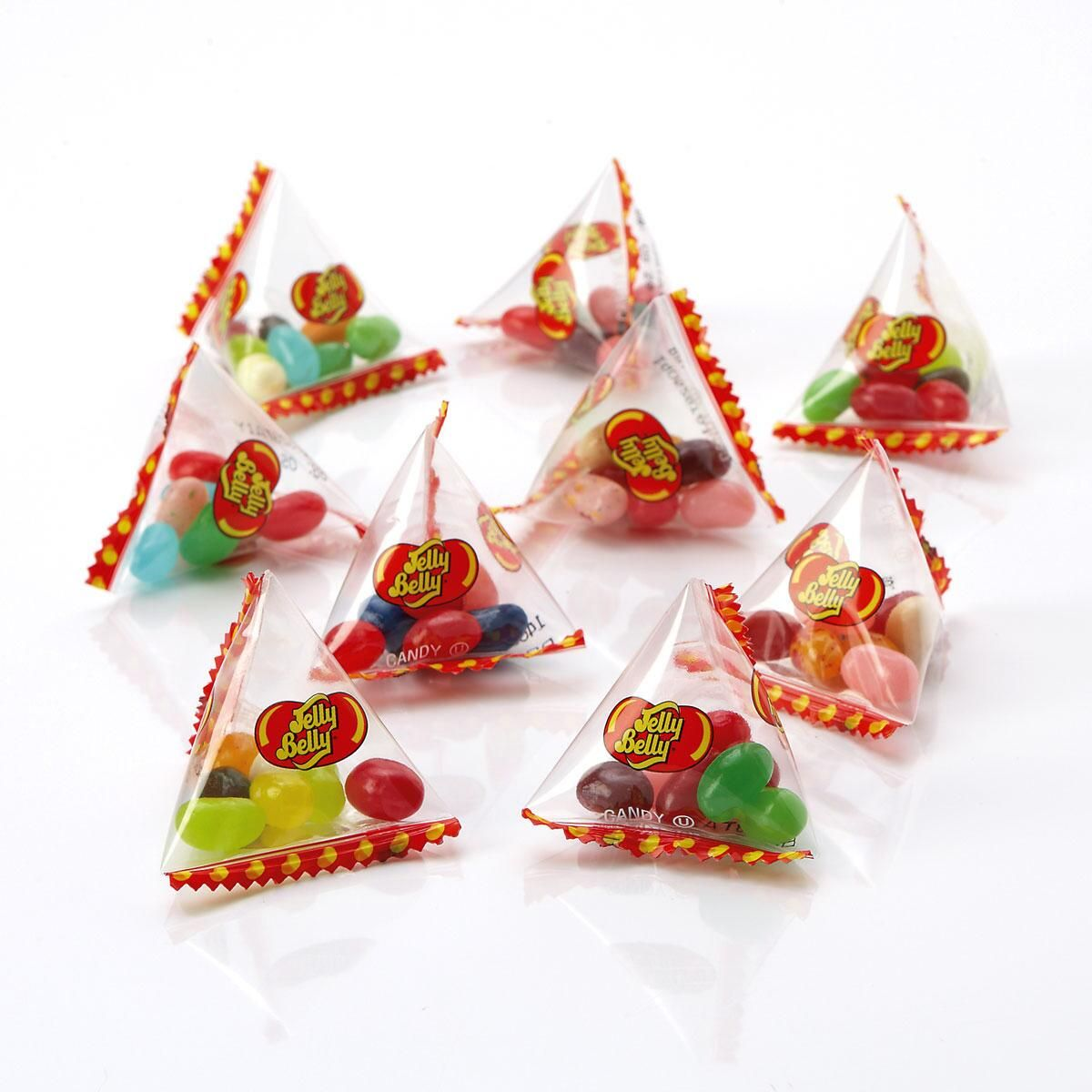 Individual Jelly Belly® Pyramid Bags