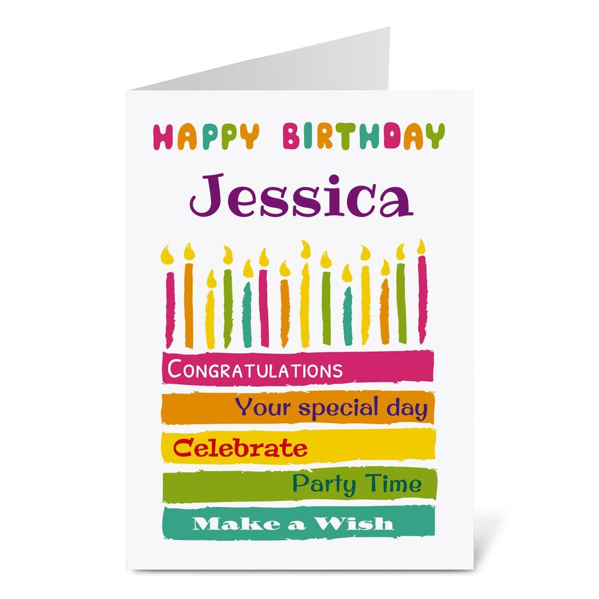 Cool Cake Birthday Create-A-Card