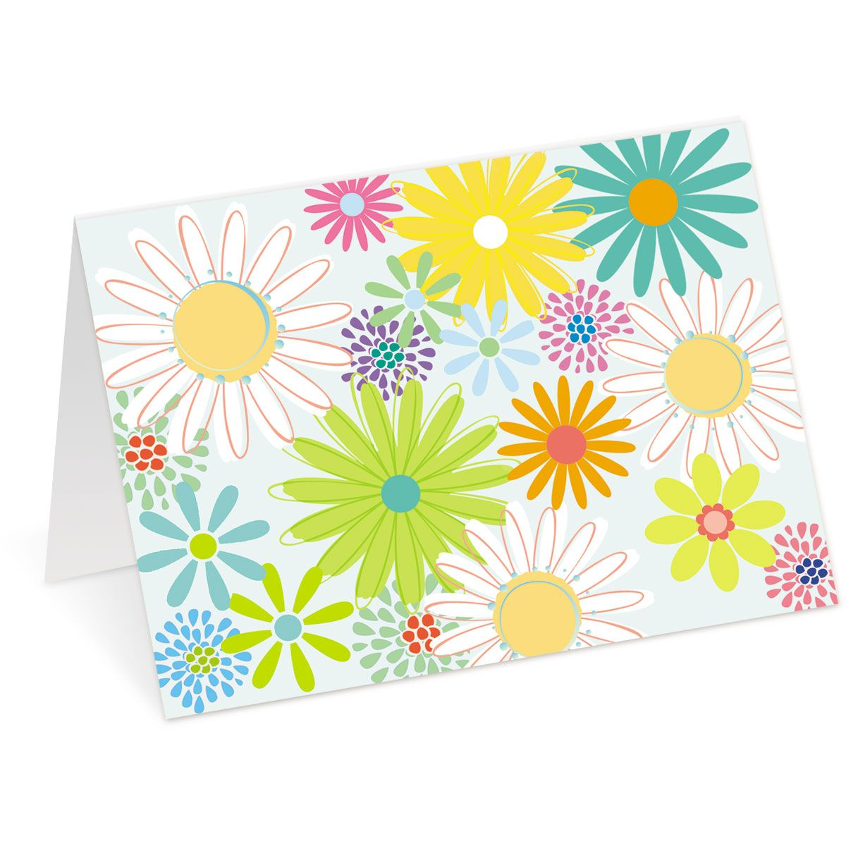 Spring Daisy Note Cards