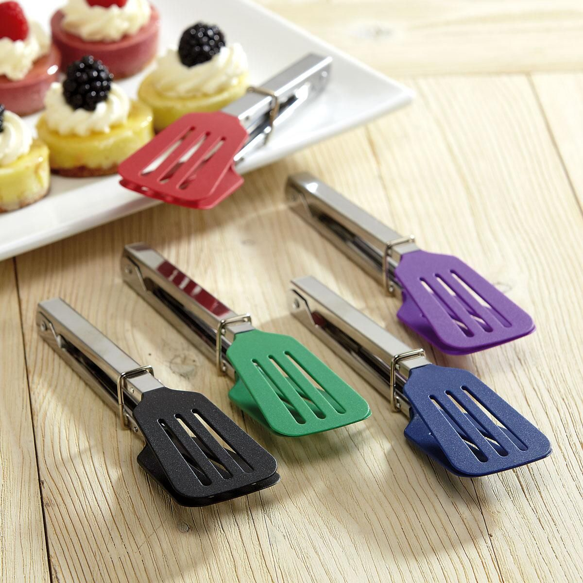 Colorful Kitchen Mini Spatula Tongs