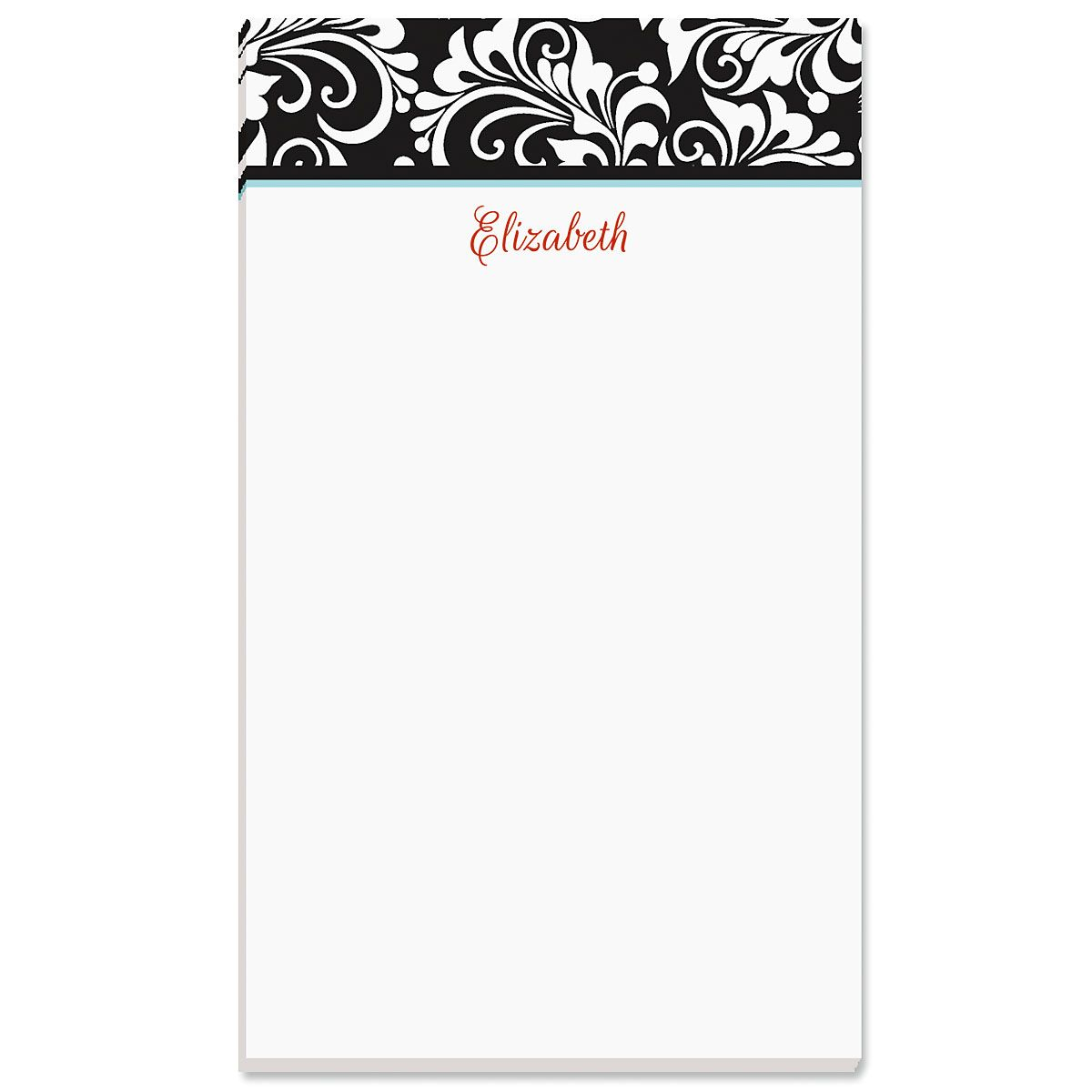 Opulent Personalized Notepads