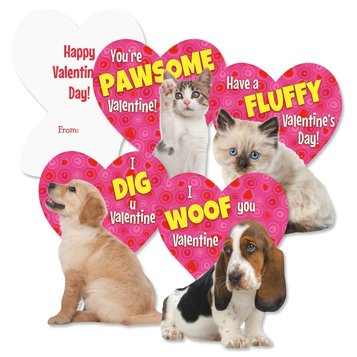 Kitten puppy valentines current catalog - Valentines day pictures with puppies ...
