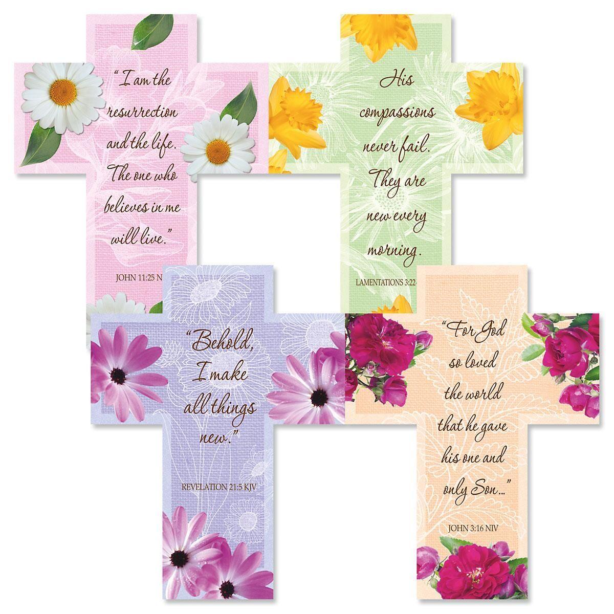 Diecut Easter Cross Faith Bookmarks