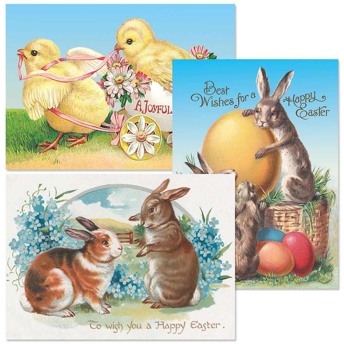 Easter Victorian Cards