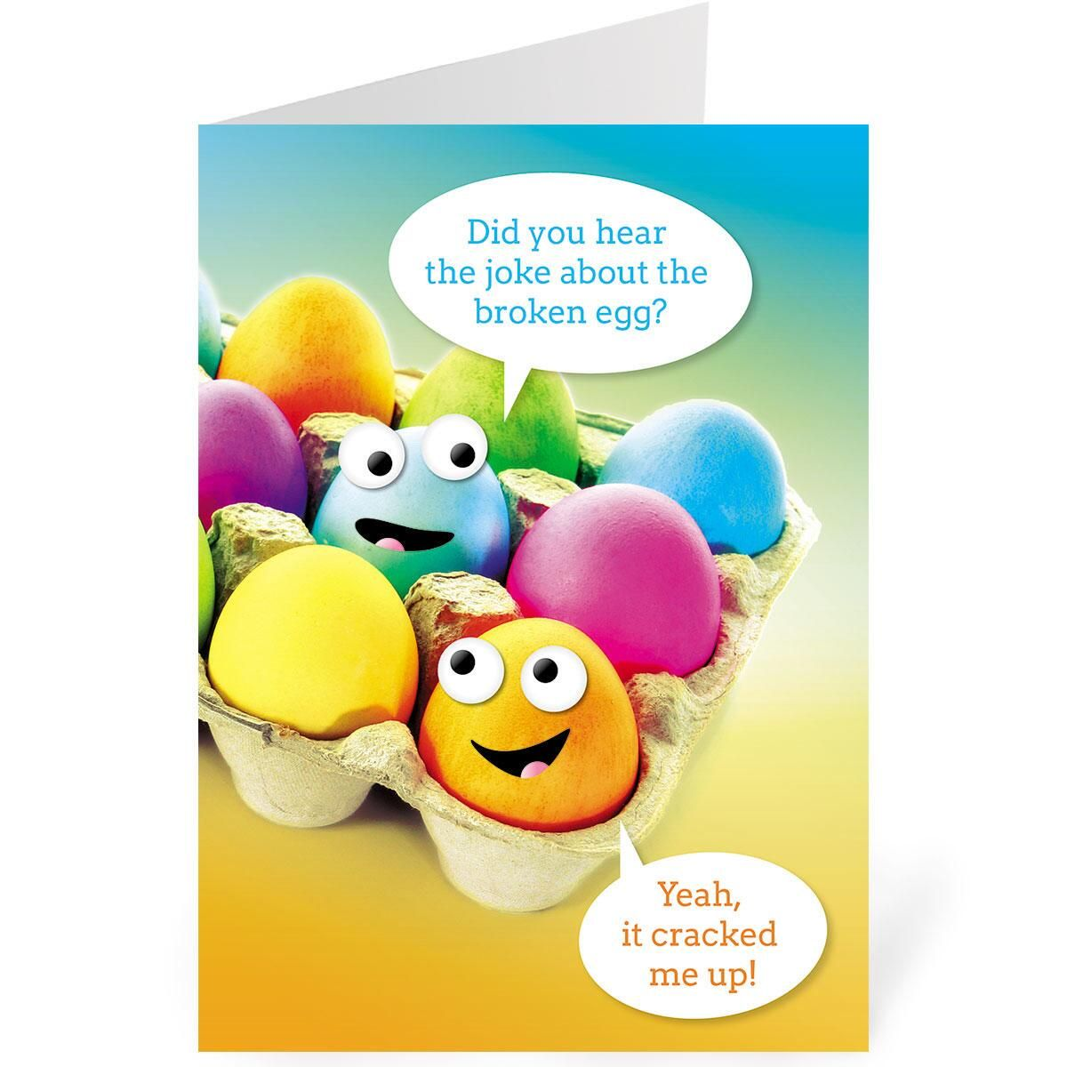 Crack Up Easter Single Design Easter Cards