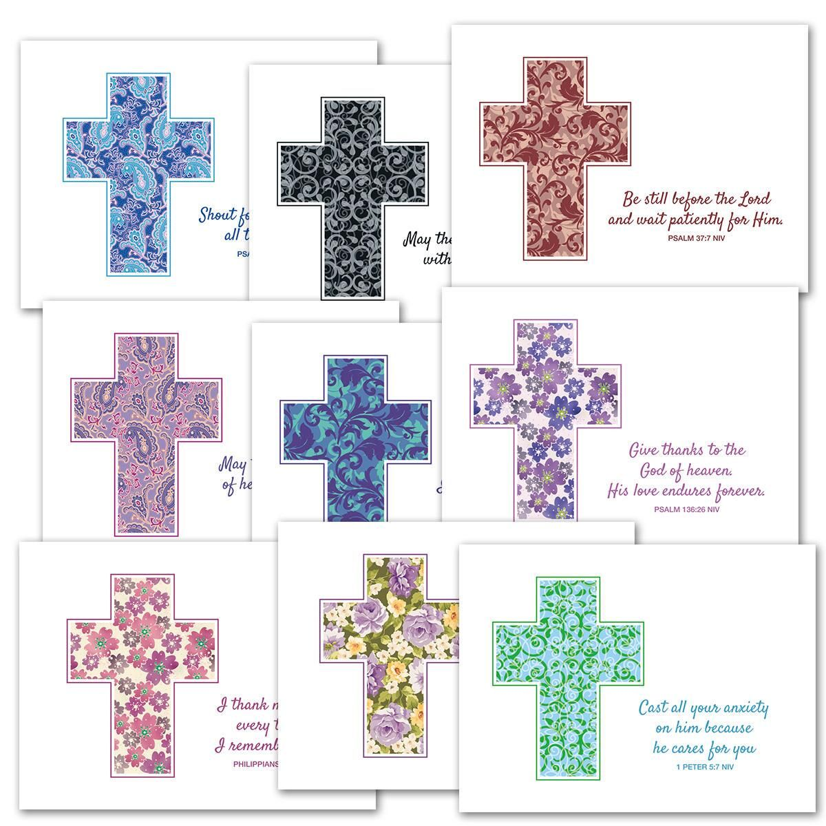 Cross and Scripture Note Card Value pack