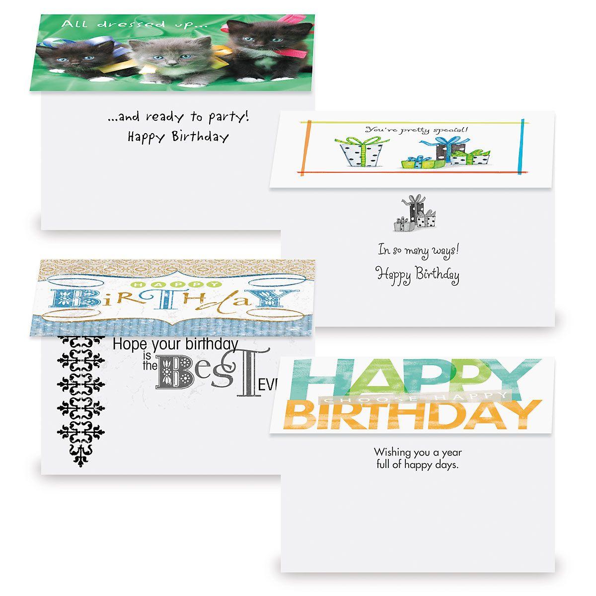 Mega Birthday Cards Value Pack