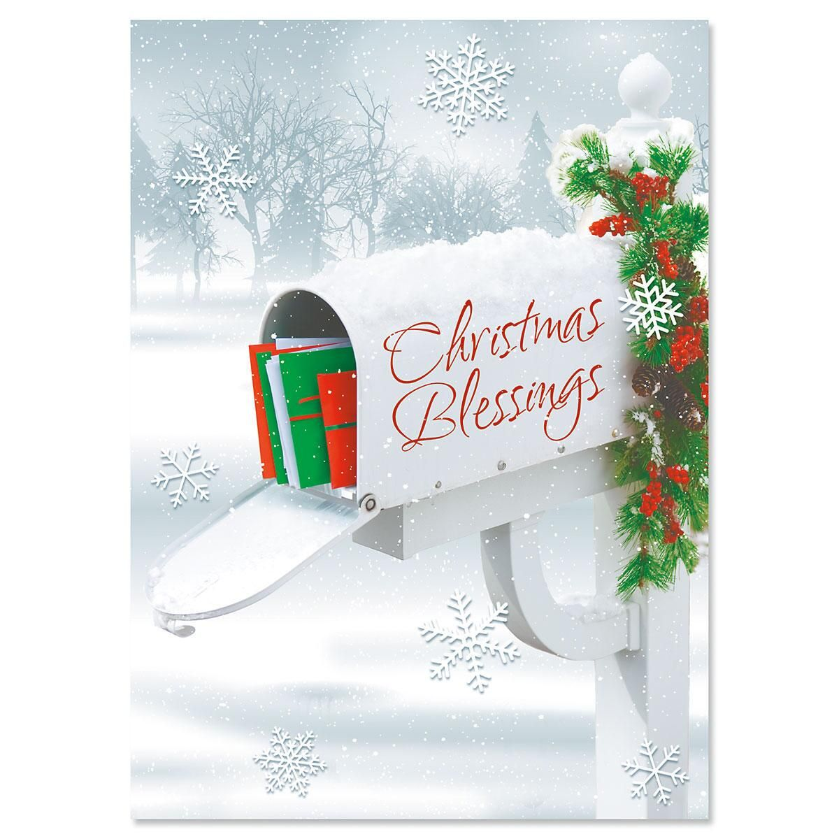 Holiday Delivery Personalized Christmas Cards - Set of 72