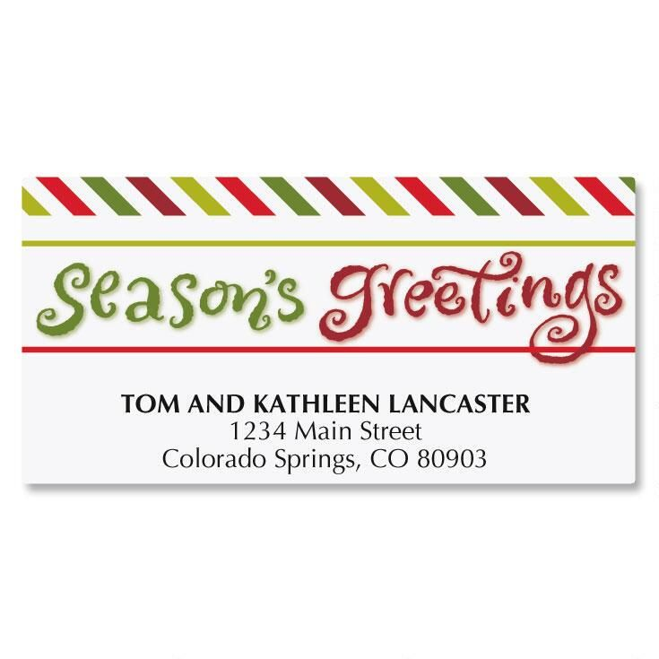 Big Greetings Address Labels