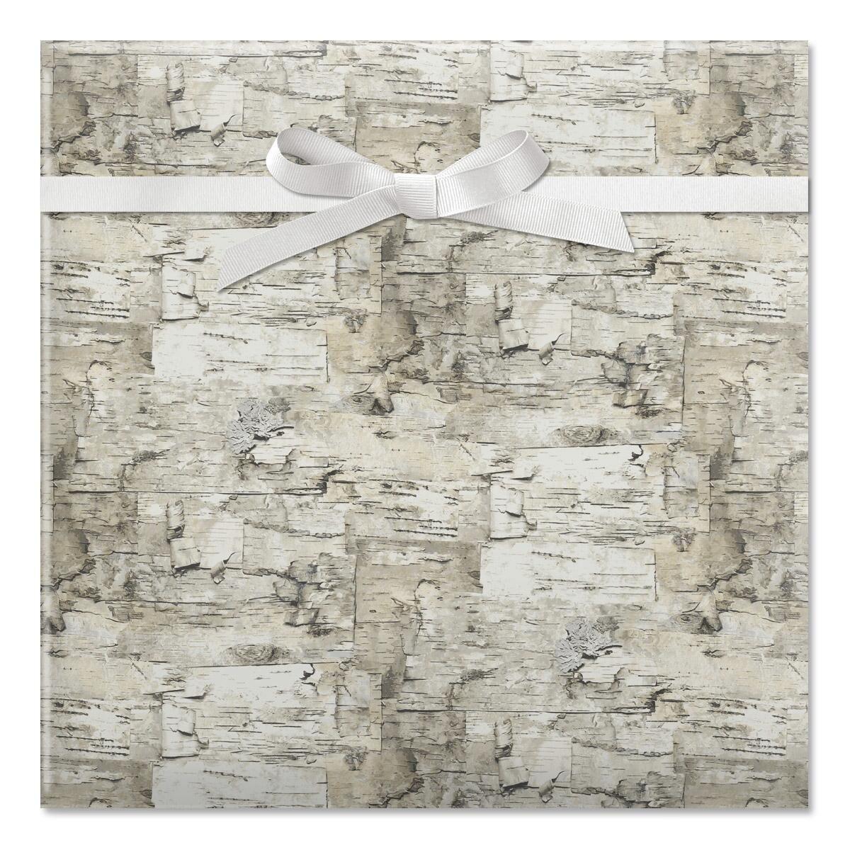 Birch Jumbo Rolled Gift Wrap