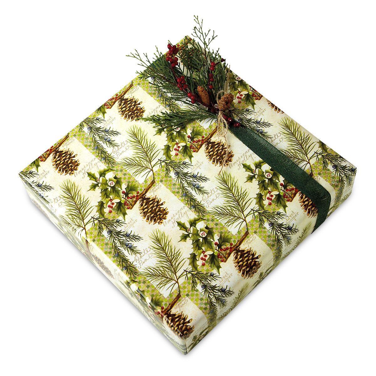 Botanical Windows Jumbo Rolled Gift Wrap