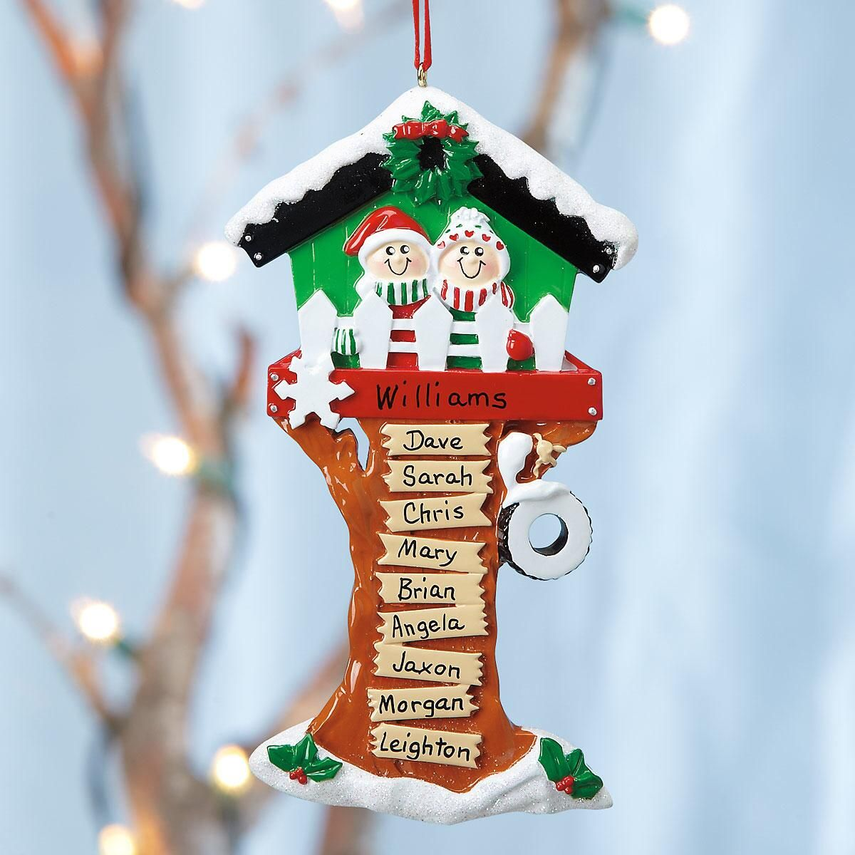 Christmas Tree House Ornament