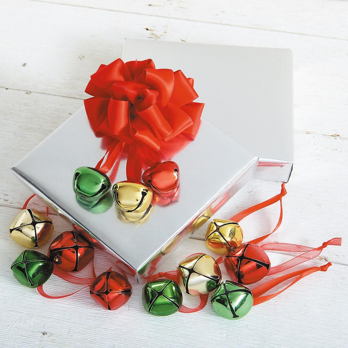 Jingle Bell Ornaments/Package Tie-Ons