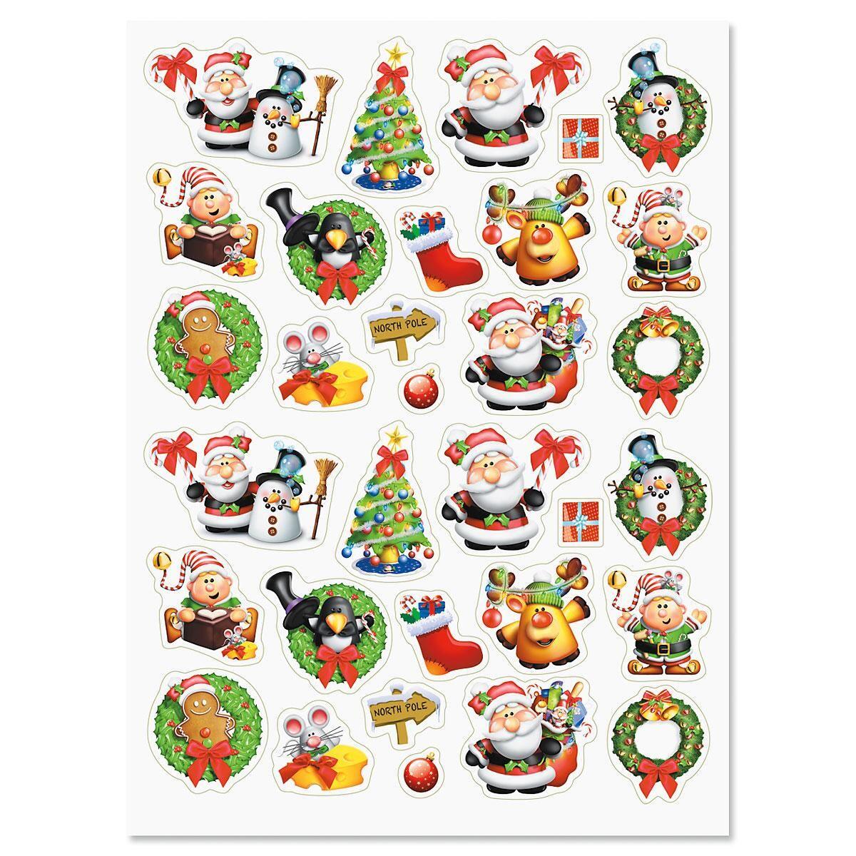 Santa's Helpers Stickers
