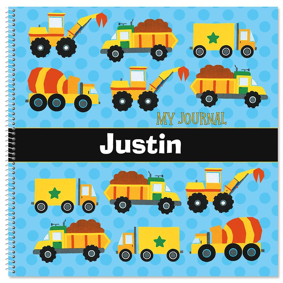 Construction Personalized Journal
