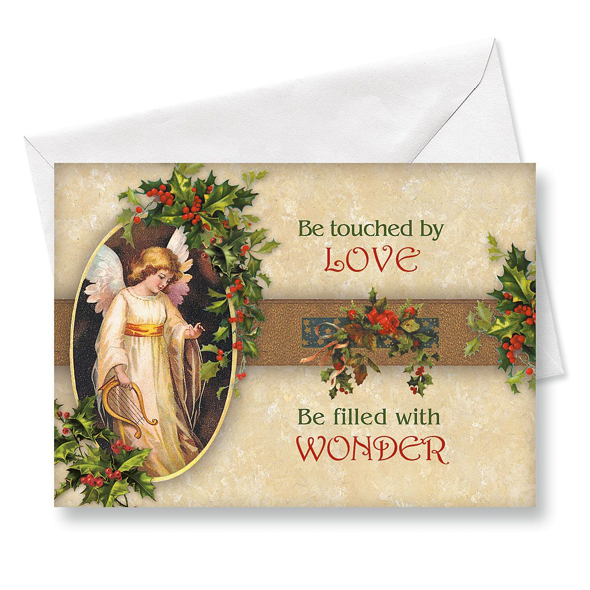 Victorian Angel Religious Christmas Cards