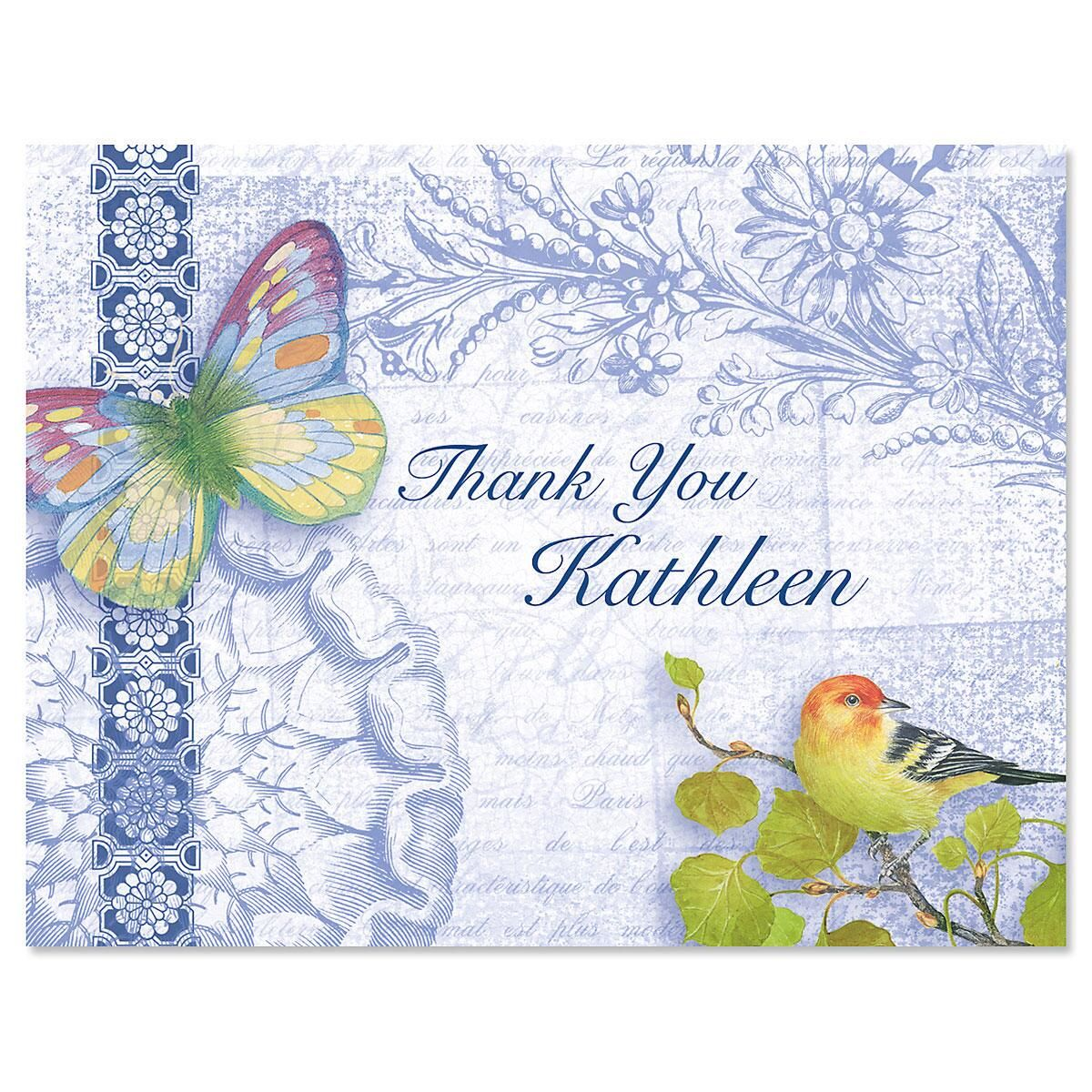 Exotic Prints Thank You Cards