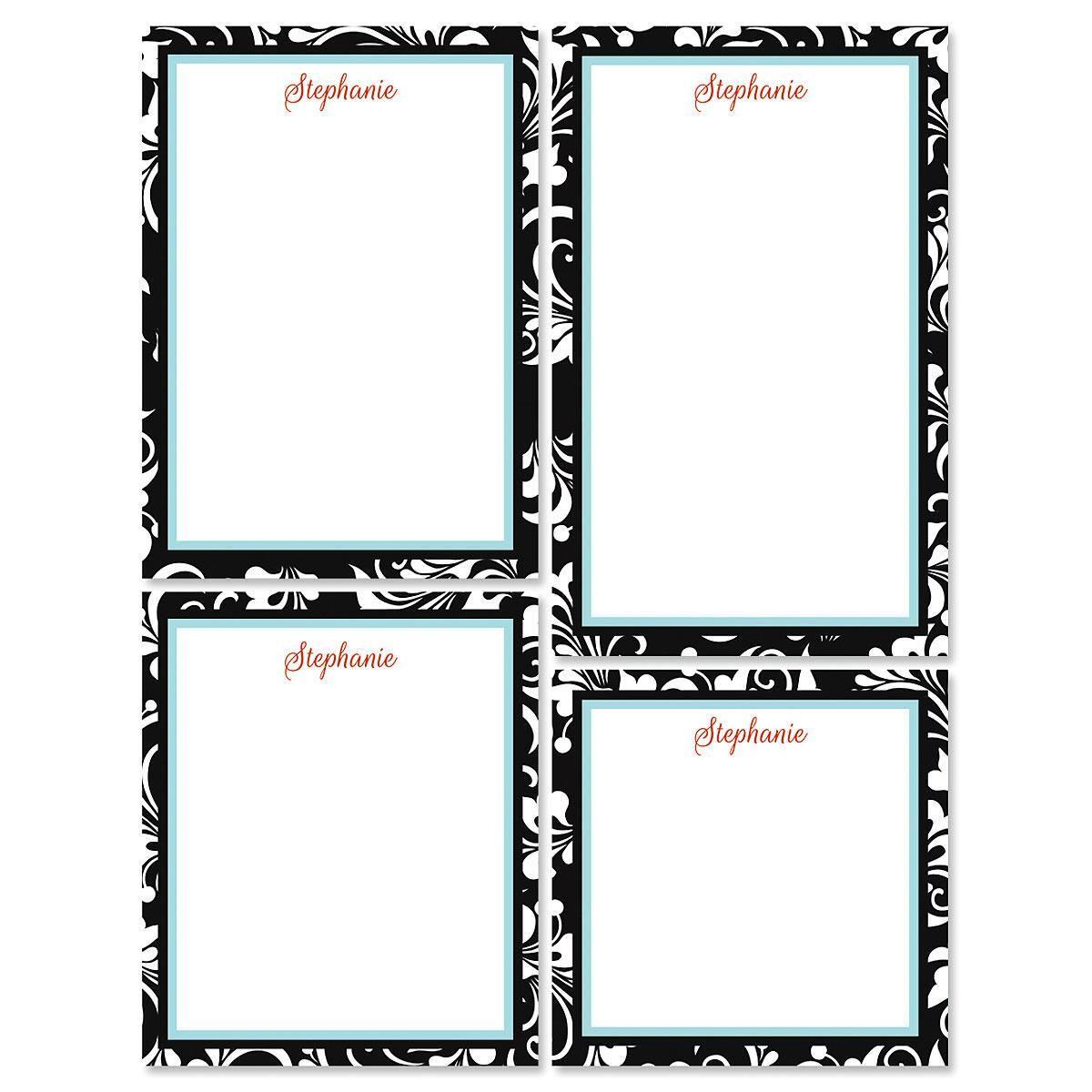 Opulent Notepad Set