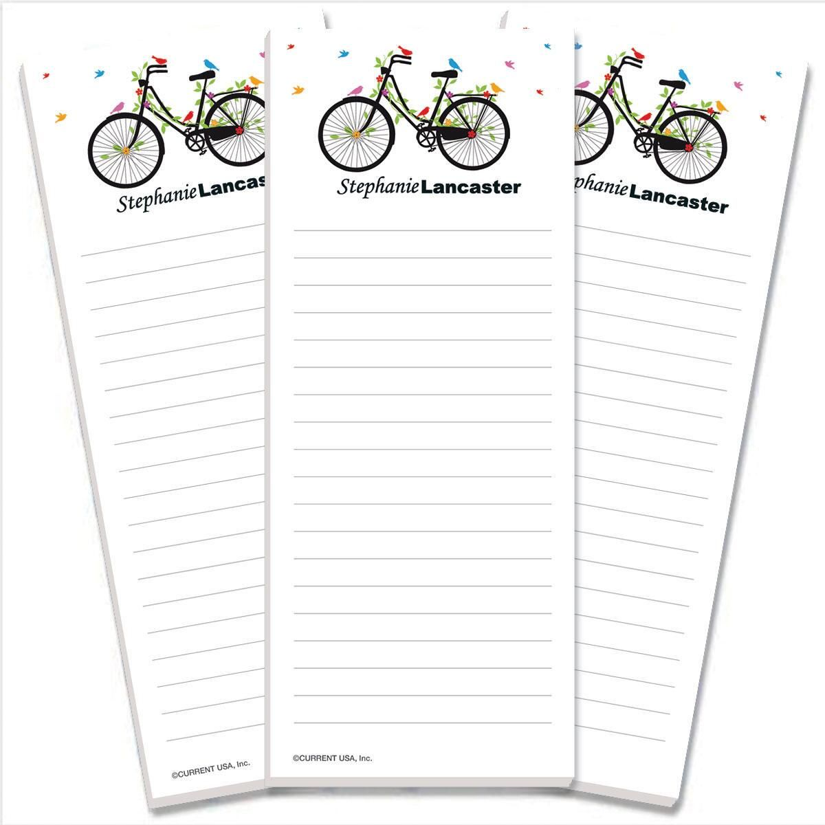 New Spin Lined Shopping List Pads