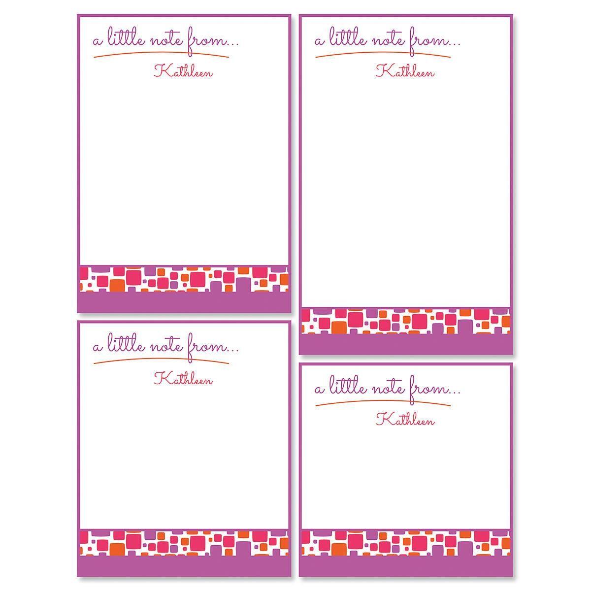 Noteworthy Notepad Set